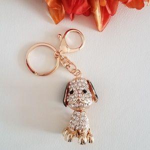 Cute Dog Keychain